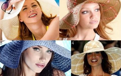 Модные пляжные шляпы 2014 - незаменимый атрибут летнего отдыха